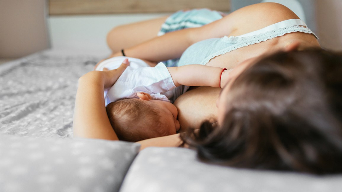How to separate breastfeeding and sleep?