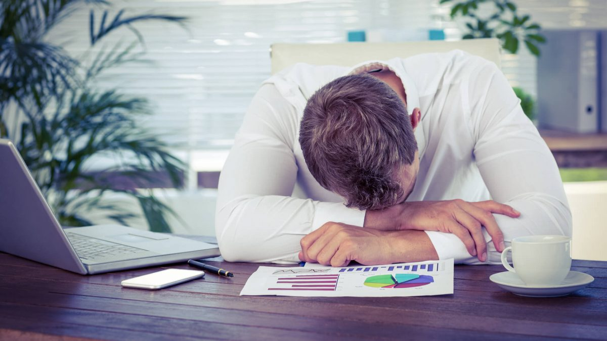 Five reasons that cause sleepiness during working time