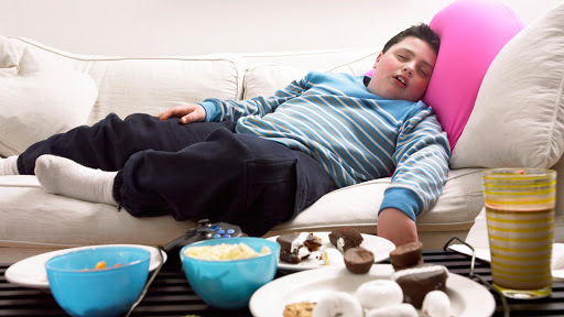 Why does lack of sleep contribute to overweight?